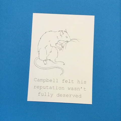 Campbell Card
