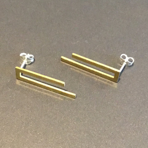 Rectangle Brass Studs