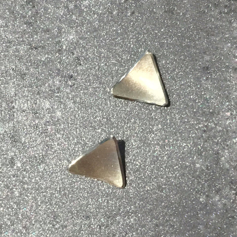 Domed Triangle Studs