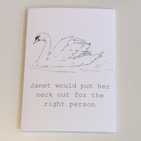 Janet Card