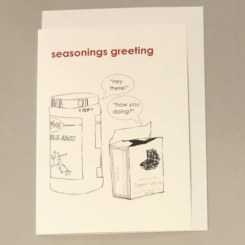 Seasonings Greeting Card