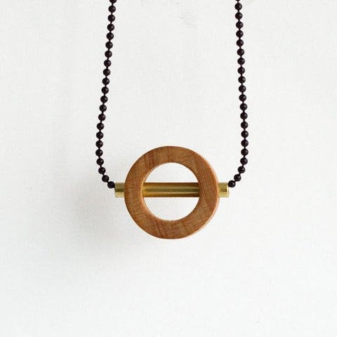 Circle Necklace Small