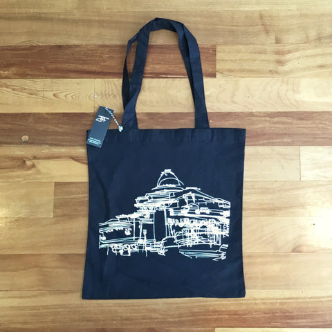 Sarjeant Gallery Drawing - Tote Bag