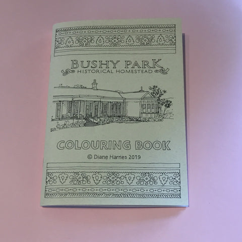 Bushy Park Colouring Book