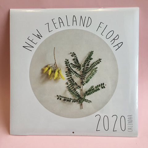 New Zealand Flora 2020 Calendar by Mixie