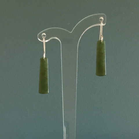 Darren Hill Pounamu Drop Earrings 4