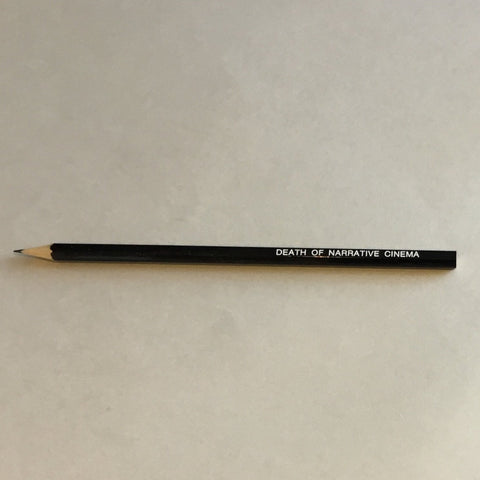 Death of narrative cinema pencil