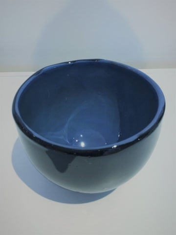 Stratus Blue Glass Bowl