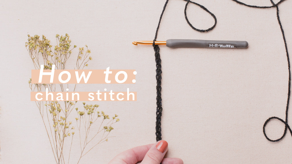 Elara Makealong Week 1: The Chain Stitch