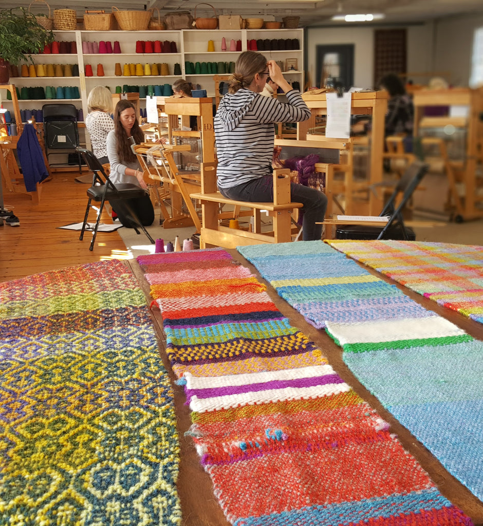 Beginning Weaving and Beyond with Tom Jipson (Nov. 11th – 15th)