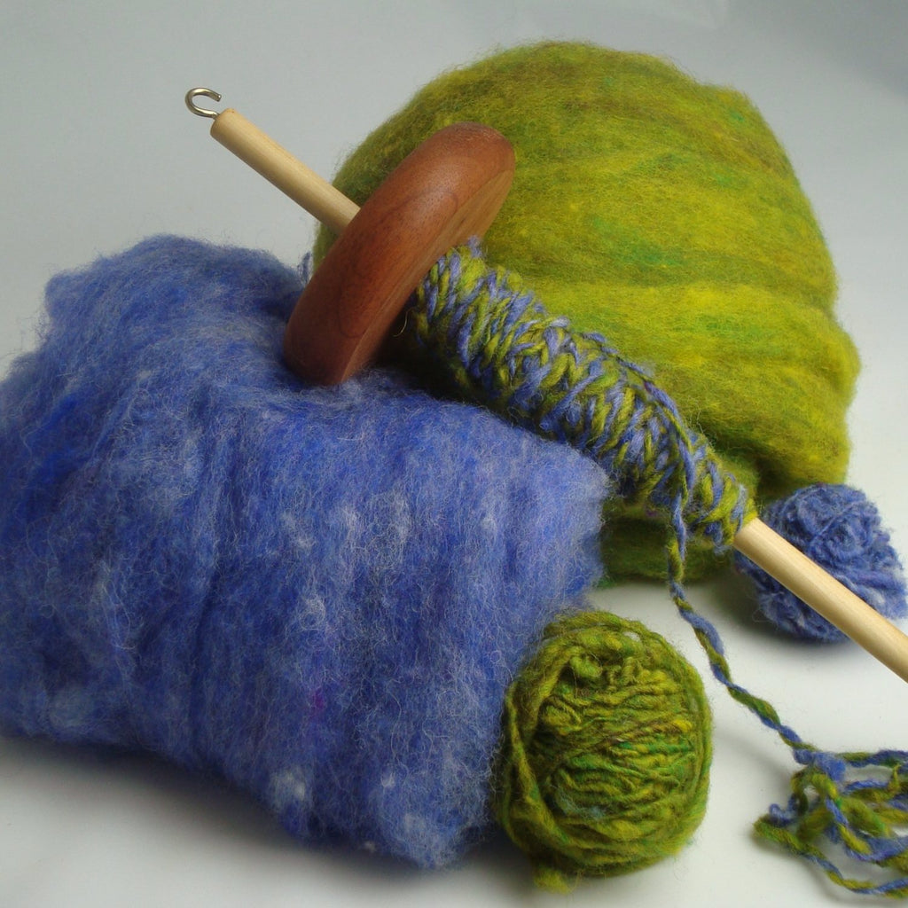 Drop Spindle Part 1 with Donna Kay (4/18)