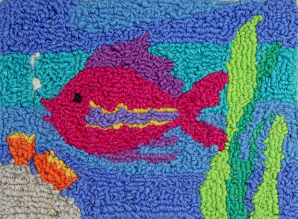 Tropical Fish Rug Hooking Kit