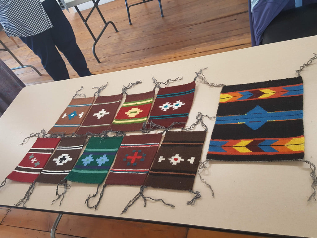 Navajo Weaving Advanced 4 Days of Weaving with Barbara Teller Ornelas and Lynda Teller Pete (9/30-10/3)