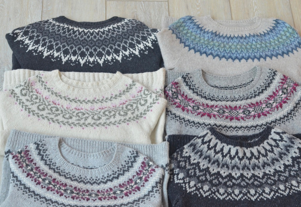 Customized Yoked Sweaters with Sarah Solomon (9/15-9/18)
