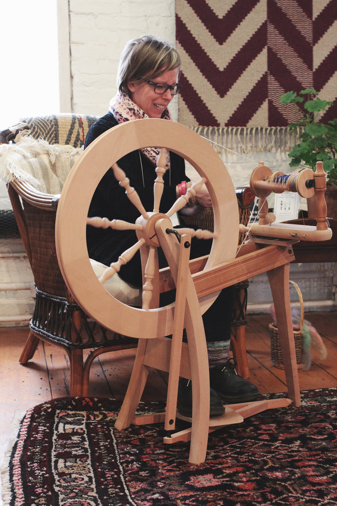 Intermediate Spinning with Maggie Casey (7/27-7/30)