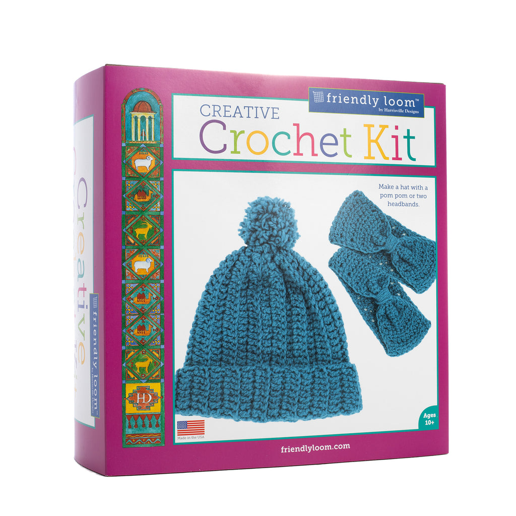 Creative Crochet Kit: BLUE