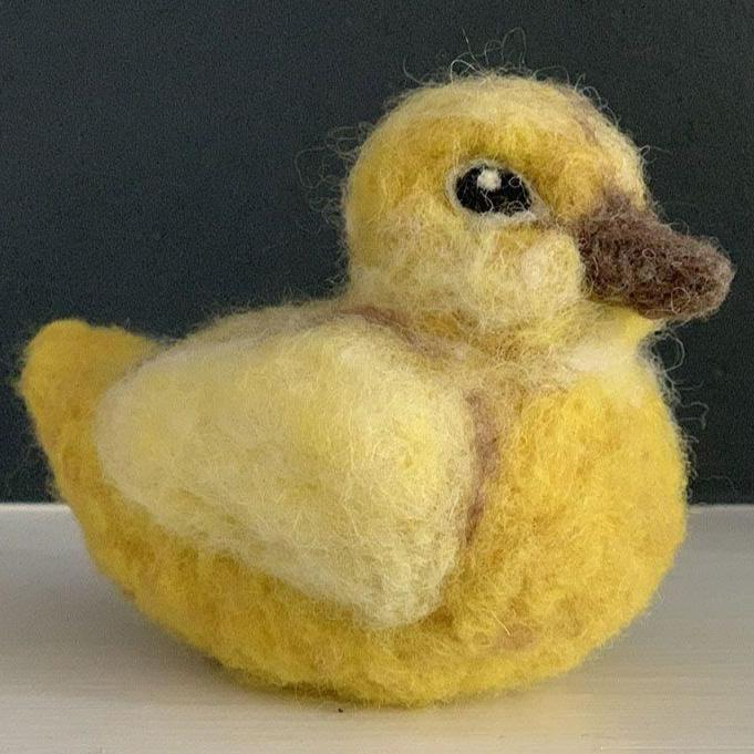 Needle Felted Duck with Jennifer McCarthy (4/11)
