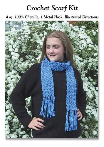 Luxury Rayon Chenille Scarf