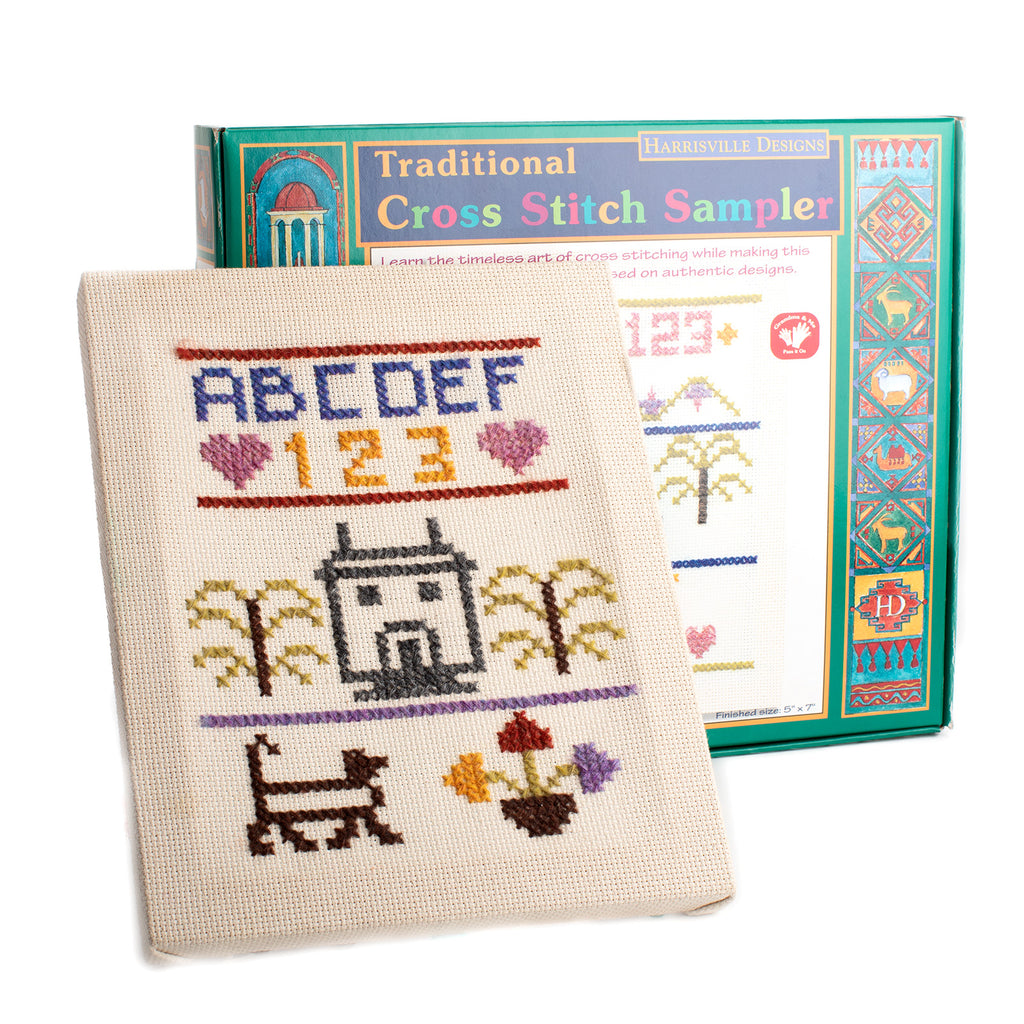 Traditional Cross Stitch Sampler