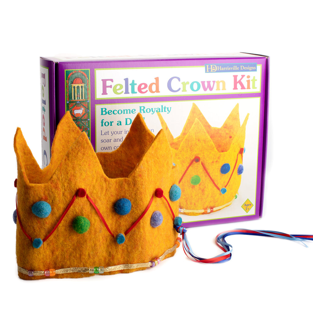 Felted Crown Kit