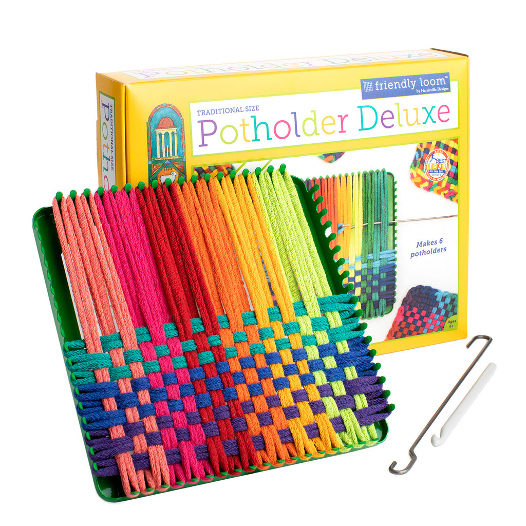 "7"" Potholder Loom DELUXE (Traditional Size)"