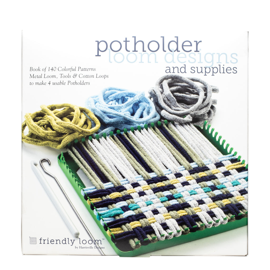 Potholder Loom Designs Book and Supplies