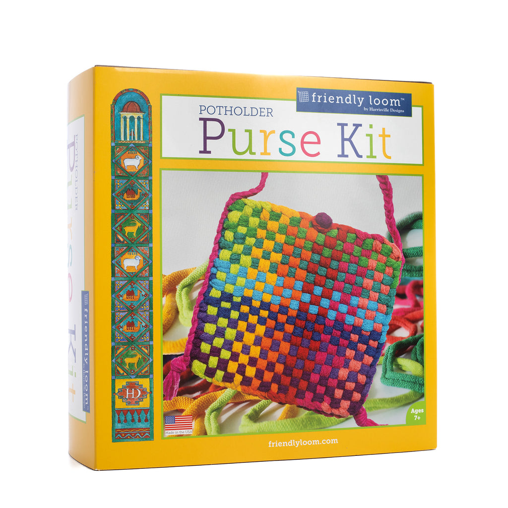 Rainbow Potholder Purse Kit (Traditional Size)