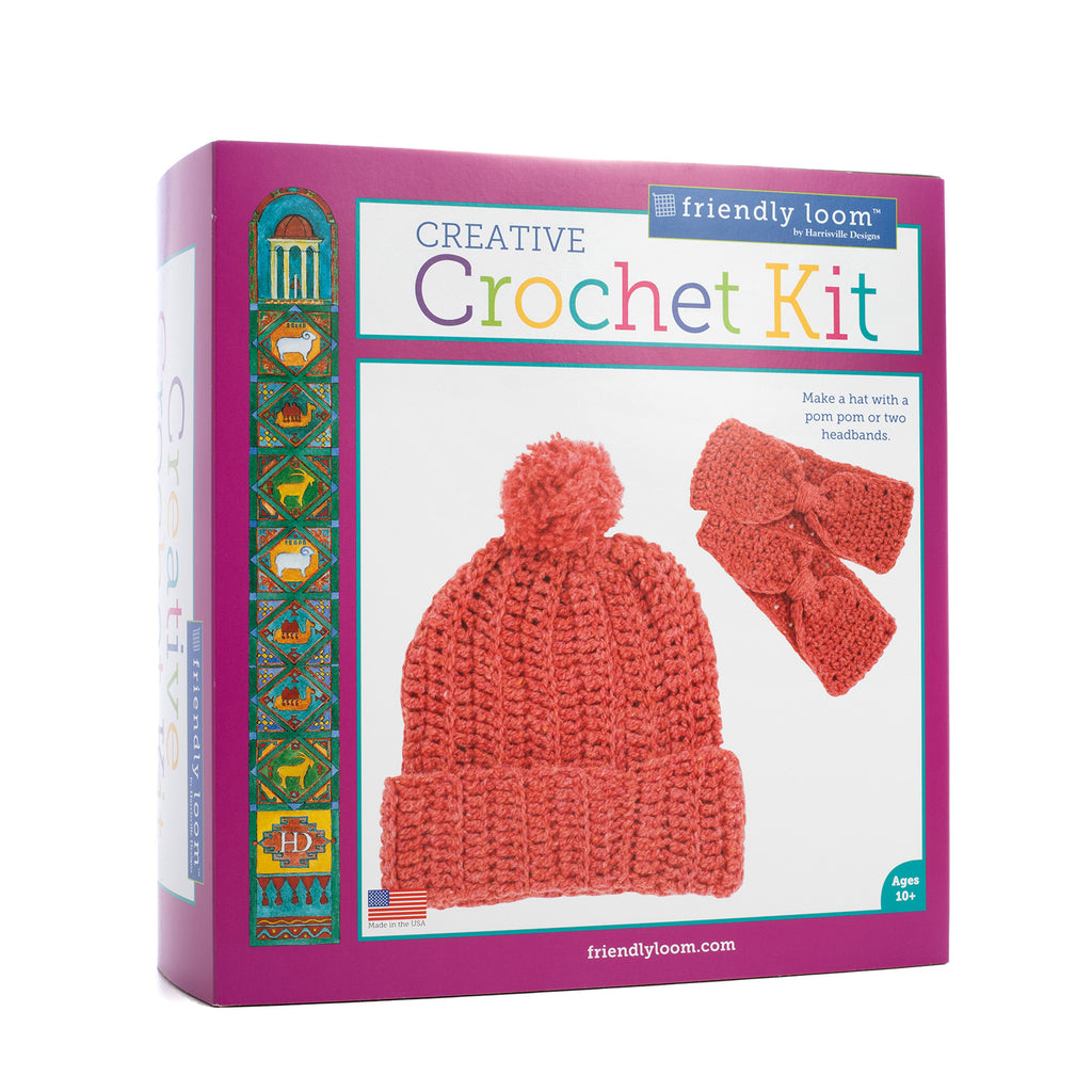 Creative Crochet Kit: RED