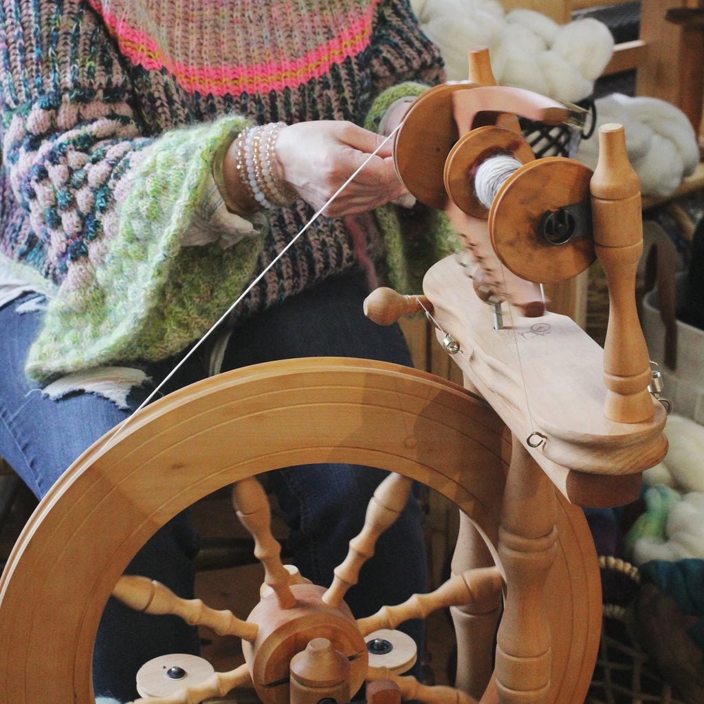 Donna Kay Sheep to Skein Spinning (8/1)
