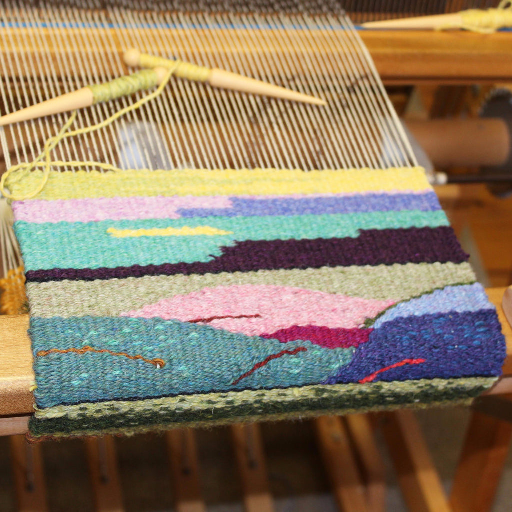 Tapestry Weaving with Tom Jipson