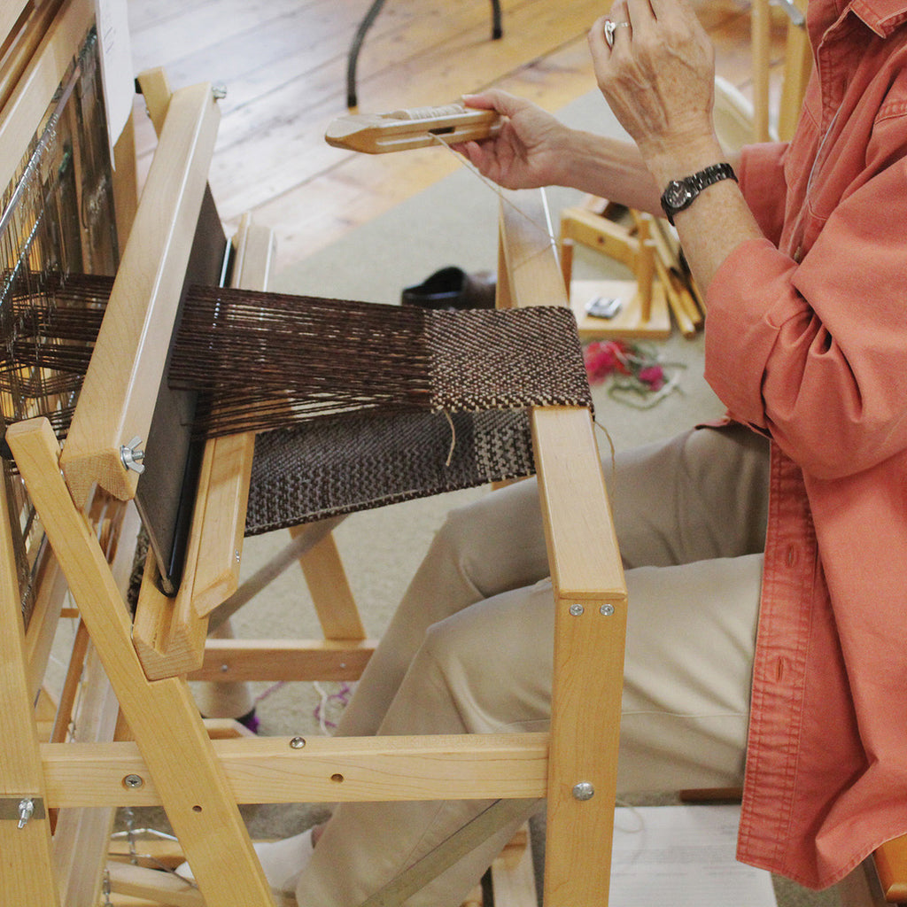 Beginning Weaving and Beyond with Tom Jipson (10/4-10/8)