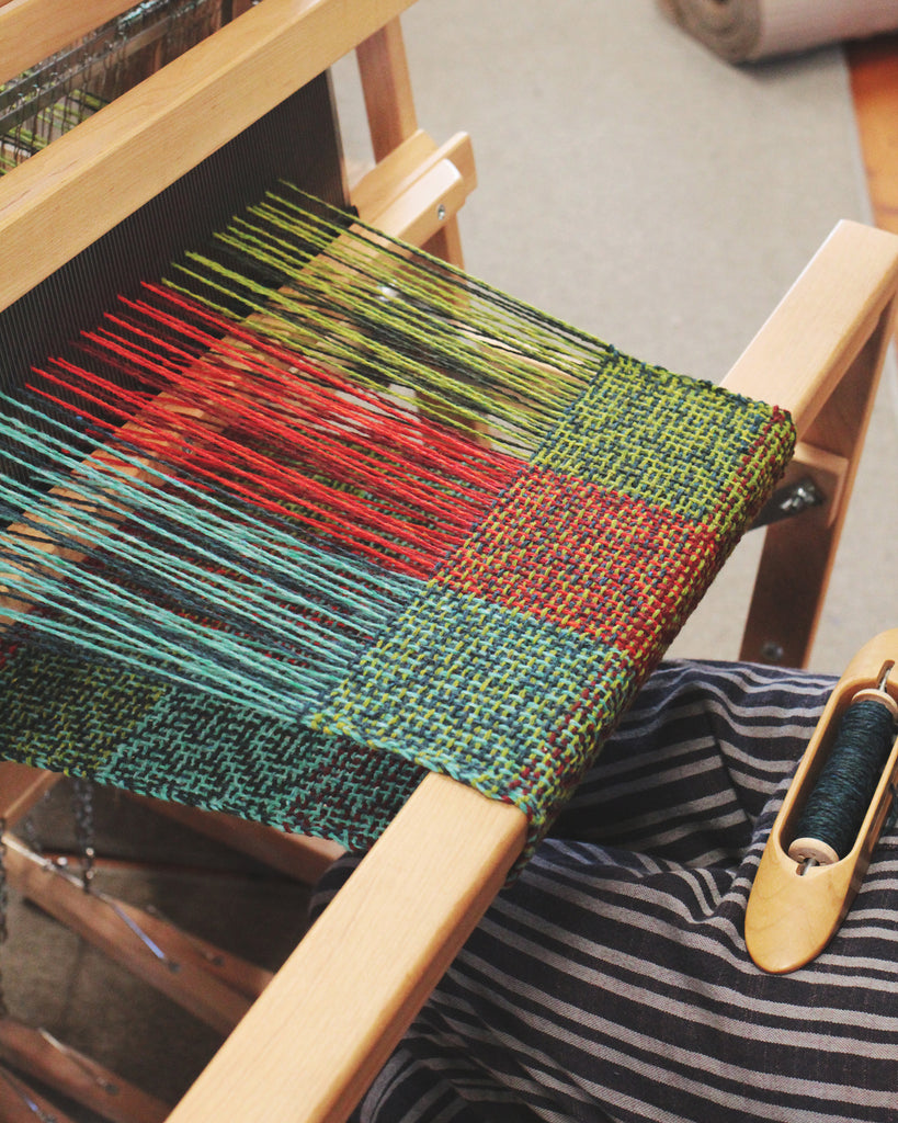 Beginning Weaving and Beyond with Tom Jipson (10/5-10/9)