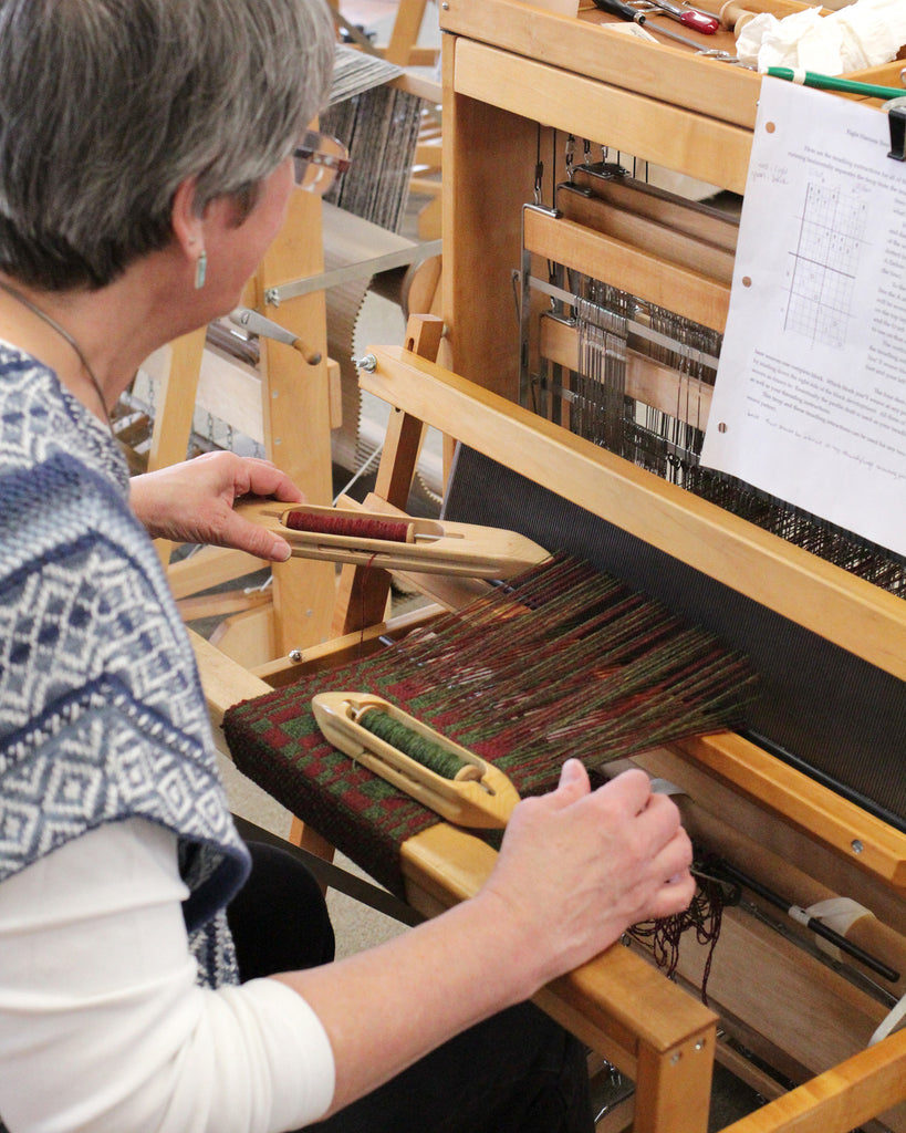 Beginning Weaving and Beyond with Tom Jipson (5/18-5/22)