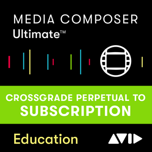 Media Composer Perpetual CROSSGRADE a Media Composer | Ultimate 1-Year Subscription - Education