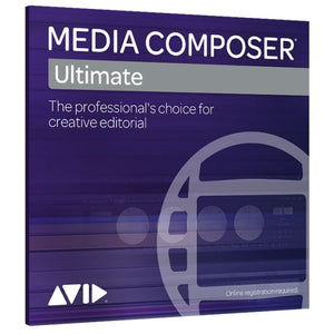 Media Composer Perpetual CROSSGRADE a Media Composer | Ultimate 1-Year Subscription