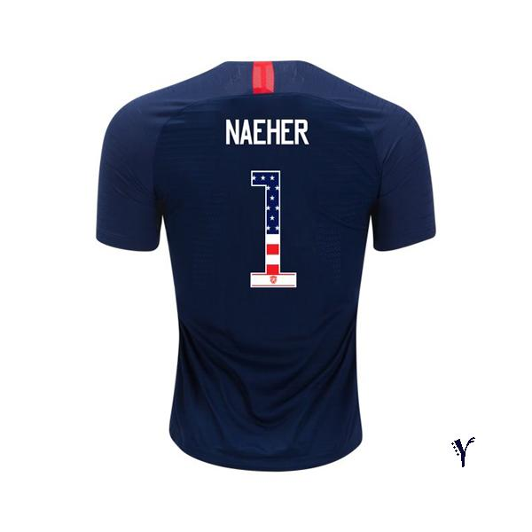 2018 /2019 Alyssa Naeher Youth Jersey Away USA Independence Day - XXS