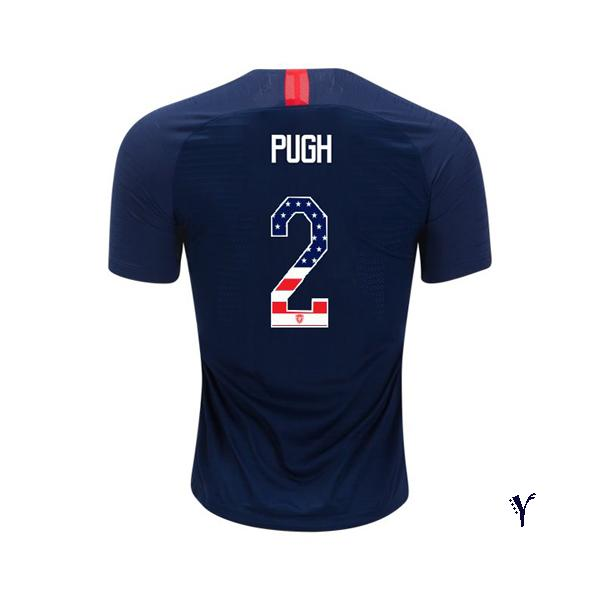 2018/2019 Mallory Pugh Youth Jersey Away USA Independence Day - XXS