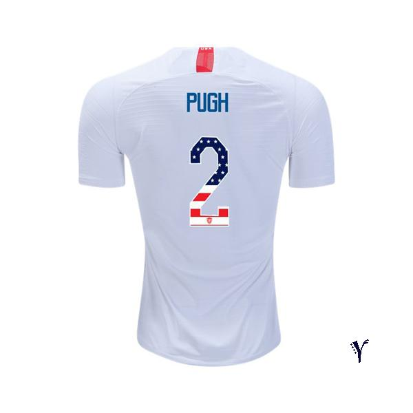 2018/2019 Youth Mallory Pugh Jersey Home USA Independence Day - XXS