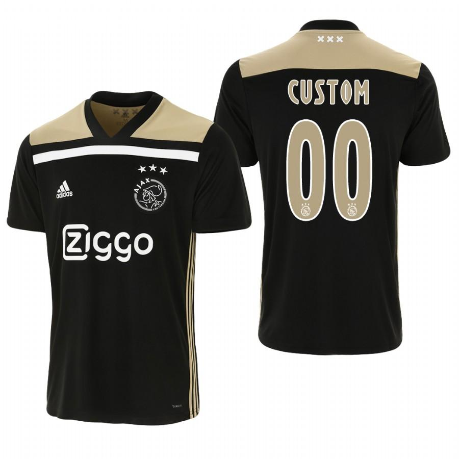 Ajax Custom 18-19 Black Away Mens Jersey - S
