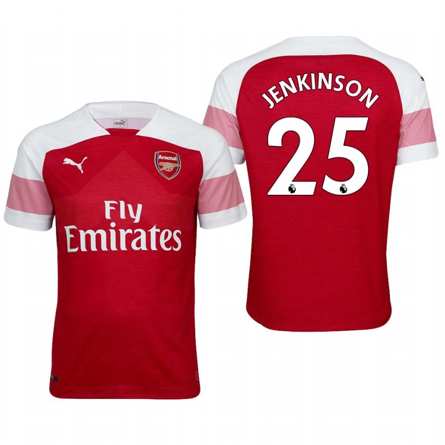 Arsenal 18/19 Red Carl Jenkinson #25 Home Mens Jersey - S