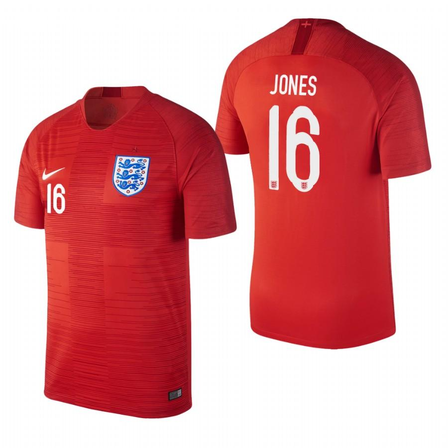 England 2018 World Cup Red Phil Jones Jersey Mens 2018 WORLD CUP - S