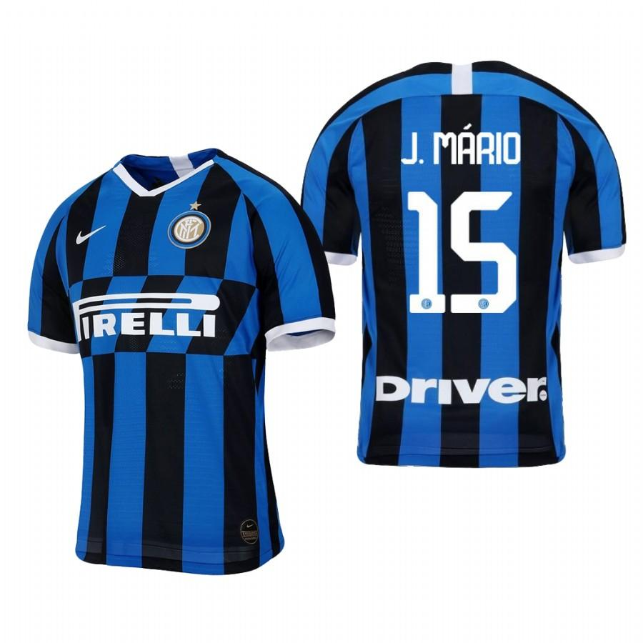 Internazionale Milano 19-20 Joao Mario #15 Official Blue Black Jersey Mens HOME - S