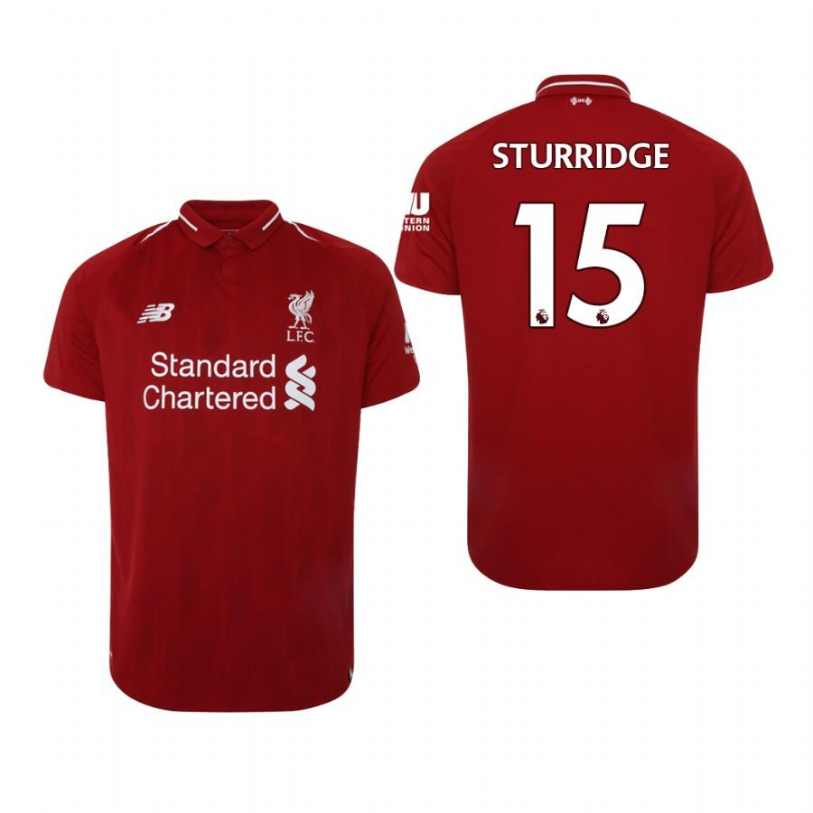 Liverpool 18-19 Red Daniel Sturridge #15 Home Mens Jersey - S