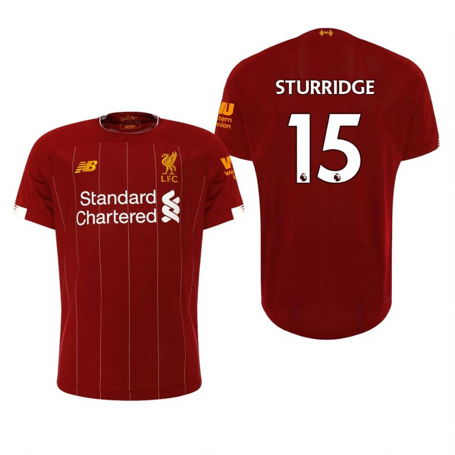 Liverpool 19-20 Daniel Sturridge #15 Official Red Mens Home Jersey - S