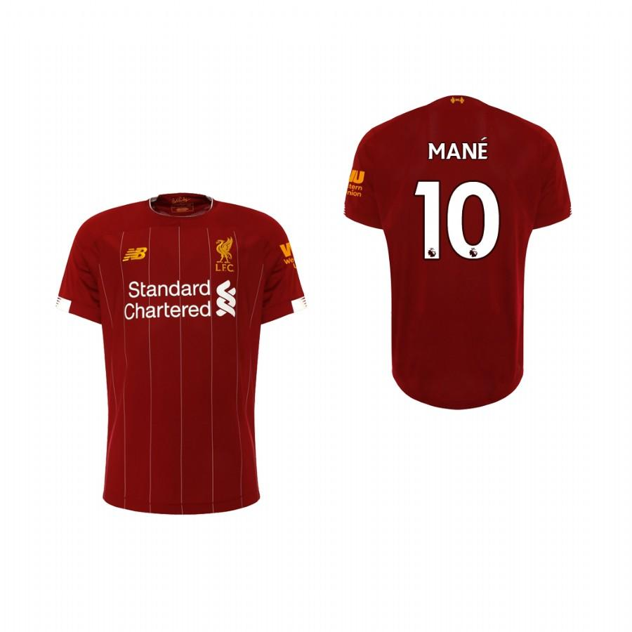 Liverpool Youth 19-20 Red Sadio Mane #10 Home Jersey - XXS