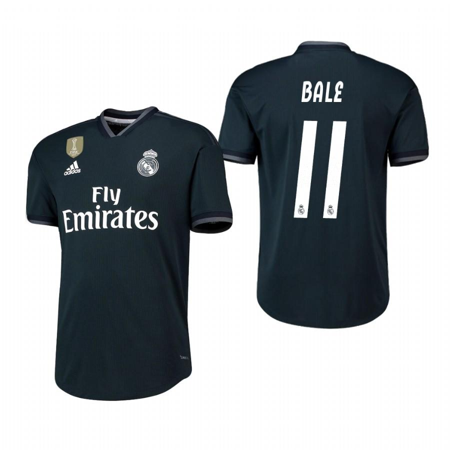 Real Madrid 18-19 Dark Navy Gareth Bale #11 Away Jersey Mens - S