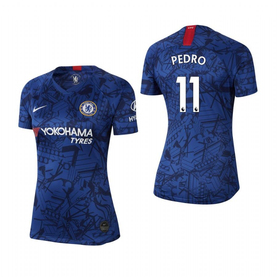 Womens Chelsea 19-20 Pedro #11 Home Jersey - Blue - S