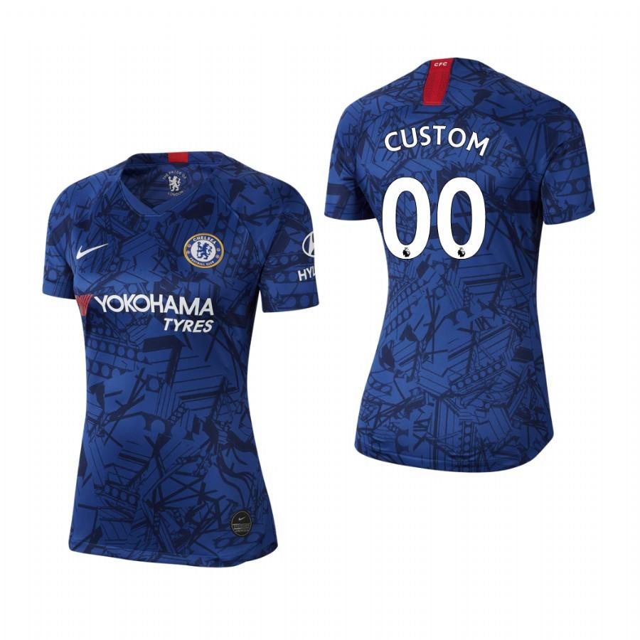 Womens Chelsea Custom 19-20 Home Jersey - Blue - S