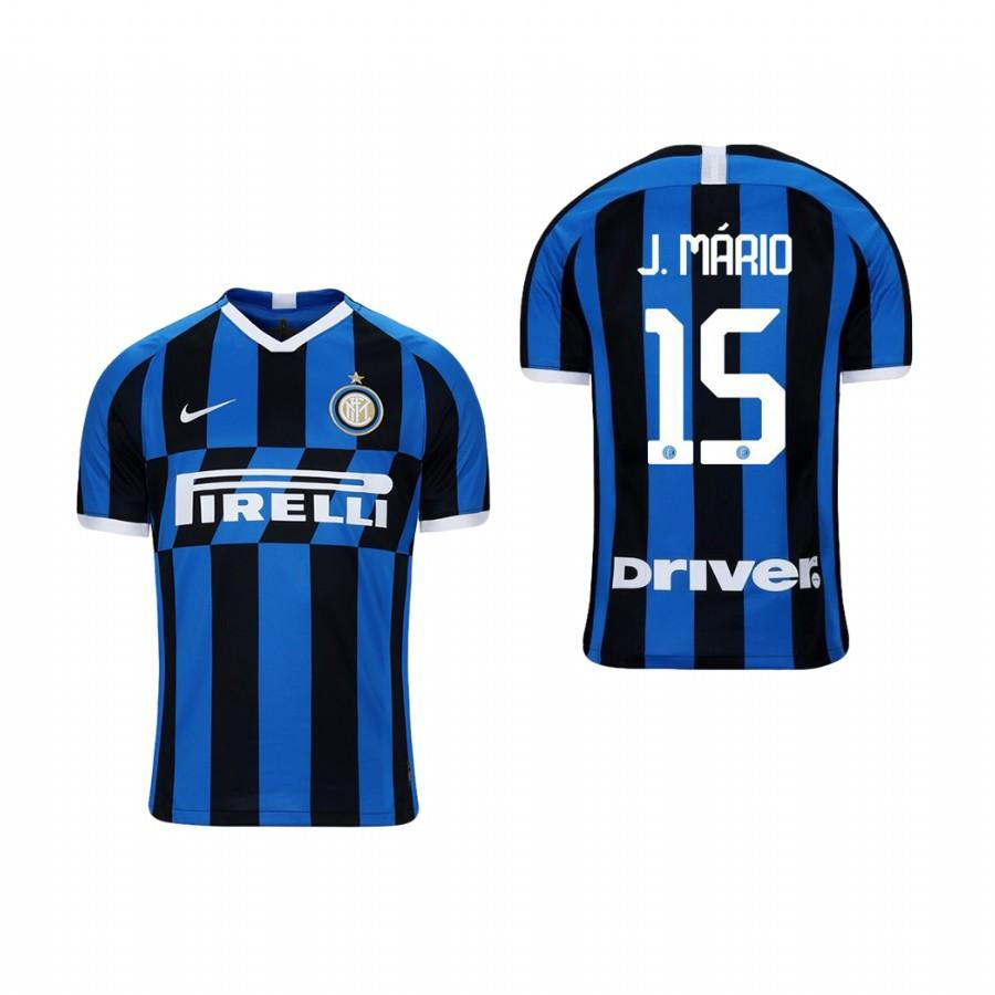 Youth Internazionale Milano 19-20 Joao Mario #15 Home Jersey - Blue Black - XXS