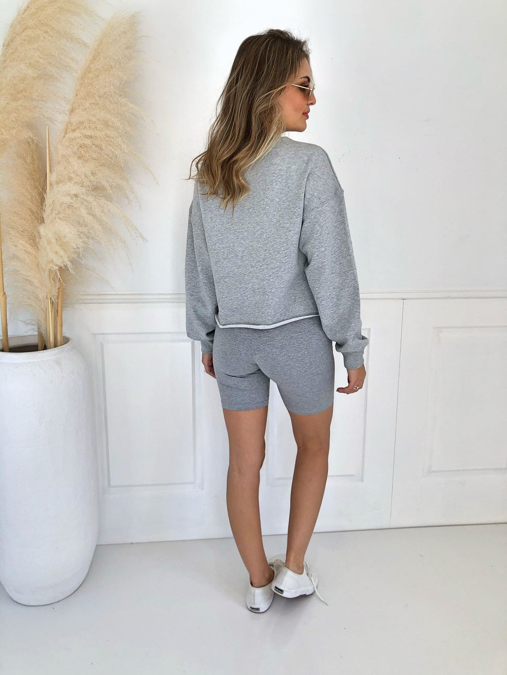 Bianca Shorts - Grey